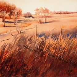 200.21 'LATE SUMMER EVEN' 56 X 38 cm
